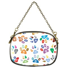 Colorful Prismatic Rainbow Animal Chain Purses (one Side)
