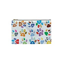 Colorful Prismatic Rainbow Animal Cosmetic Bag (small)