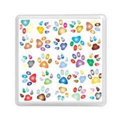 Colorful Prismatic Rainbow Animal Memory Card Reader (Square)