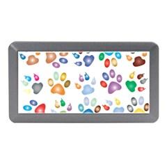 Colorful Prismatic Rainbow Animal Memory Card Reader (mini)