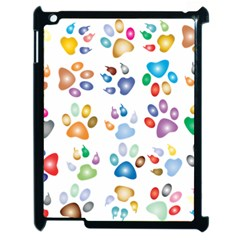 Colorful Prismatic Rainbow Animal Apple Ipad 2 Case (black)