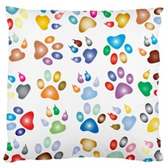 Colorful Prismatic Rainbow Animal Large Cushion Case (one Side)