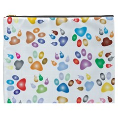 Colorful Prismatic Rainbow Animal Cosmetic Bag (xxxl)
