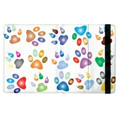 Colorful Prismatic Rainbow Animal Apple Ipad 3/4 Flip Case