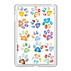 Colorful Prismatic Rainbow Animal Apple Ipad Mini Case (white)