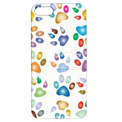 Colorful Prismatic Rainbow Animal Apple Iphone 5 Hardshell Case With Stand