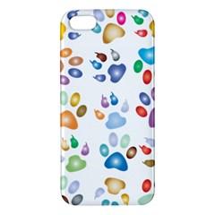 Colorful Prismatic Rainbow Animal Apple Iphone 5 Premium Hardshell Case