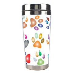 Colorful Prismatic Rainbow Animal Stainless Steel Travel Tumblers