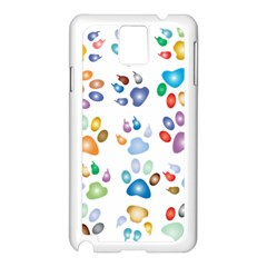 Colorful Prismatic Rainbow Animal Samsung Galaxy Note 3 N9005 Case (white)