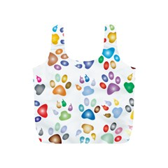 Colorful Prismatic Rainbow Animal Full Print Recycle Bags (s)