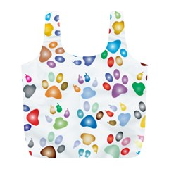 Colorful Prismatic Rainbow Animal Full Print Recycle Bags (l)