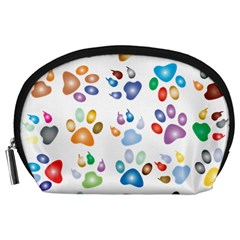 Colorful Prismatic Rainbow Animal Accessory Pouches (large)