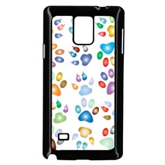 Colorful Prismatic Rainbow Animal Samsung Galaxy Note 4 Case (black)