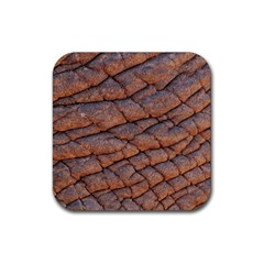 Elephant Skin Rubber Coaster (square)