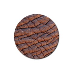 Elephant Skin Rubber Round Coaster (4 Pack)