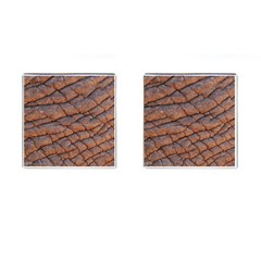 Elephant Skin Cufflinks (square)