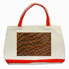 Elephant Skin Classic Tote Bag (red)
