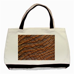 Elephant Skin Basic Tote Bag (two Sides)