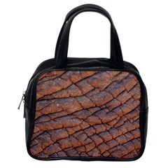 Elephant Skin Classic Handbags (one Side)