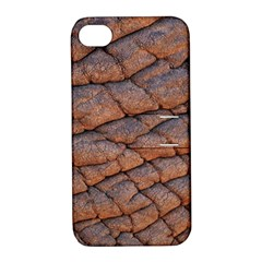 Elephant Skin Apple Iphone 4/4s Hardshell Case With Stand