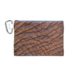 Elephant Skin Canvas Cosmetic Bag (m)