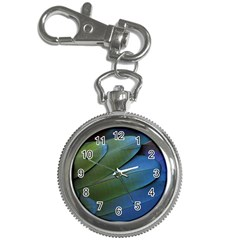 Feather Parrot Colorful Metalic Key Chain Watches
