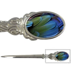 Feather Parrot Colorful Metalic Letter Openers