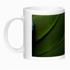 Feather Parrot Colorful Metalic Night Luminous Mugs