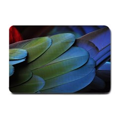 Feather Parrot Colorful Metalic Small Doormat