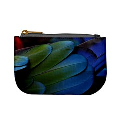 Feather Parrot Colorful Metalic Mini Coin Purses