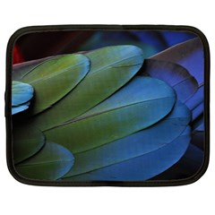 Feather Parrot Colorful Metalic Netbook Case (XL)
