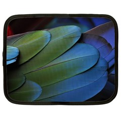 Feather Parrot Colorful Metalic Netbook Case (xxl)