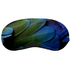 Feather Parrot Colorful Metalic Sleeping Masks