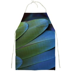 Feather Parrot Colorful Metalic Full Print Aprons