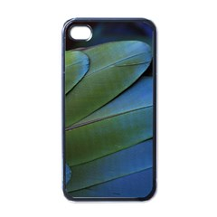 Feather Parrot Colorful Metalic Apple Iphone 4 Case (black)