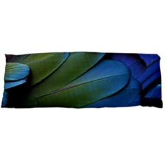 Feather Parrot Colorful Metalic Body Pillow Case (dakimakura)