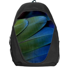 Feather Parrot Colorful Metalic Backpack Bag
