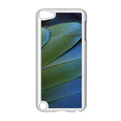 Feather Parrot Colorful Metalic Apple Ipod Touch 5 Case (white)