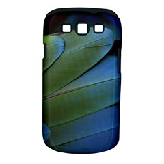 Feather Parrot Colorful Metalic Samsung Galaxy S Iii Classic Hardshell Case (pc+silicone)