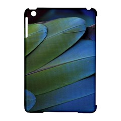 Feather Parrot Colorful Metalic Apple Ipad Mini Hardshell Case (compatible With Smart Cover)