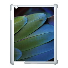 Feather Parrot Colorful Metalic Apple Ipad 3/4 Case (white)