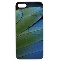 Feather Parrot Colorful Metalic Apple Iphone 5 Hardshell Case With Stand