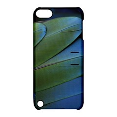 Feather Parrot Colorful Metalic Apple Ipod Touch 5 Hardshell Case With Stand