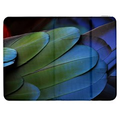 Feather Parrot Colorful Metalic Samsung Galaxy Tab 7  P1000 Flip Case