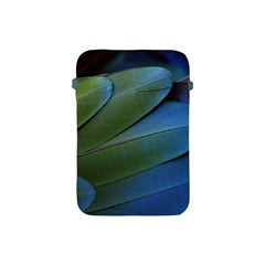 Feather Parrot Colorful Metalic Apple Ipad Mini Protective Soft Cases