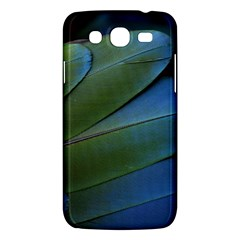 Feather Parrot Colorful Metalic Samsung Galaxy Mega 5 8 I9152 Hardshell Case