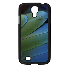 Feather Parrot Colorful Metalic Samsung Galaxy S4 I9500/ I9505 Case (black)