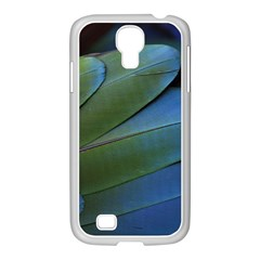 Feather Parrot Colorful Metalic Samsung Galaxy S4 I9500/ I9505 Case (white)