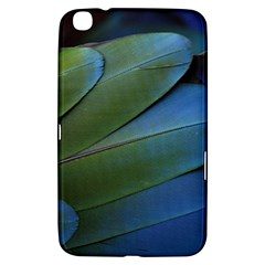 Feather Parrot Colorful Metalic Samsung Galaxy Tab 3 (8 ) T3100 Hardshell Case