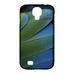 Feather Parrot Colorful Metalic Samsung Galaxy S4 Classic Hardshell Case (pc+silicone)